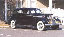 1939 Packard Super 8 touring sedan, Model 1703.