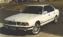 This is my pride and joy 1990 BMW E34 535iA. It is standard except for the 18in Lenso Alloy wheels.