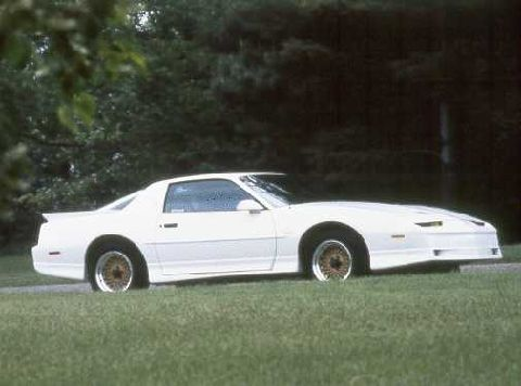 This is a white Trans Am GTA (88)