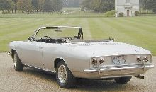1965 corvair monza convertible. 140. Lives in England. American summer nationals winner 2003.