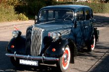 This is a 1937 Opel Super Six with a 6 cyl. overhead valve engine.
