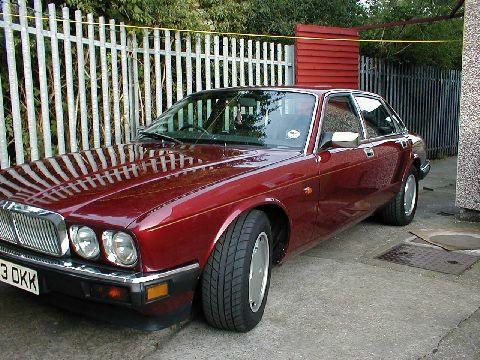 This is a piture of my H reg 1991 XJ6 3.2 Jaguar.