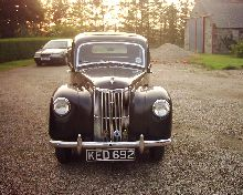 Ford Prefect E493A First registered 07/05/53