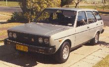 1976 Fiat 131 Mirafiori Estate - owned by me from 1986 to 1988 - Sydney, Australia