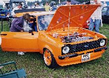 this is a pic of a ford escort 1600 sports 1976 model