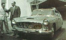Lancia Flaminia sedan. Personal car of Juan Manuel Fangio (2)