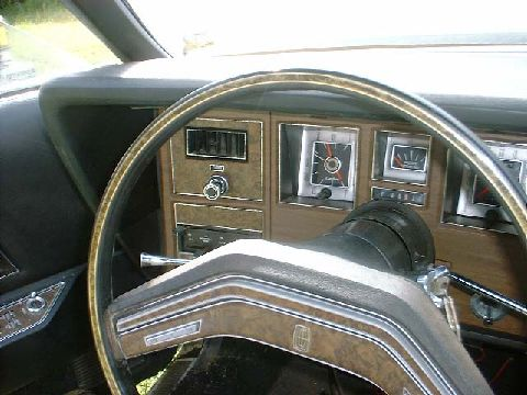 Interior shot left dash 1976 last year of production mk 4 unrestored