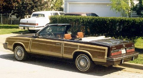 1983 Chrysler LeBaron Mark Cross Edition Convertible. Mitsubishi 2.6 litre engine. (Mini Hemi) Corinthian leather seats. I have other pix's available.