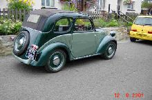 500 Topolino 'English' 4-seater
