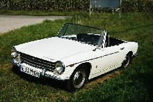 The car is a Innocenti S 1100, Model 1965.