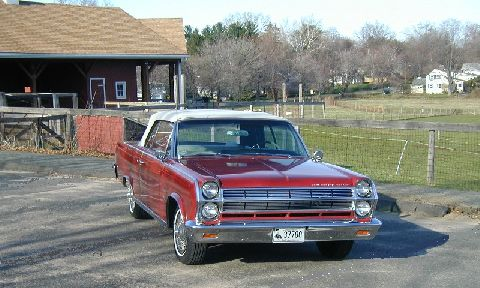 1965 Rambler Ambassador convertible.  AMC 327 4v, automatic, power steering, factory AM/FM, tilt wheel, remote drivers mirror and tilt wheel.