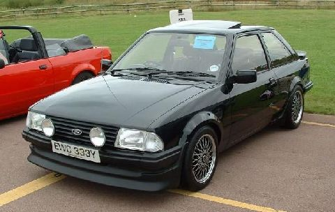ford escort xr3   picture gallery   motorbase