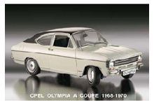Opel Olympia A Coupe 1967-1970