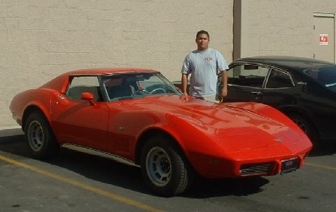 my dads 77 vette