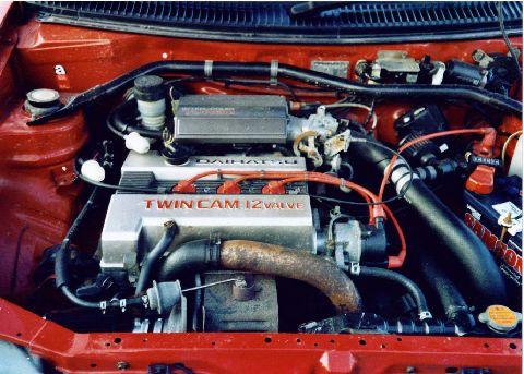 Daihatsu Charade Gtti Engine Picture Gallery Motorbase