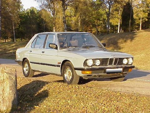 BMW 5 Series (four cylinder) 1981+