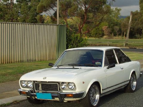 Fiat 124 coupe picture gallery motorbase - 1975 fiat 124 sport coupe ...