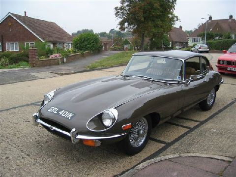 Jaguar E-type 4.2 litre 2+2 Series II