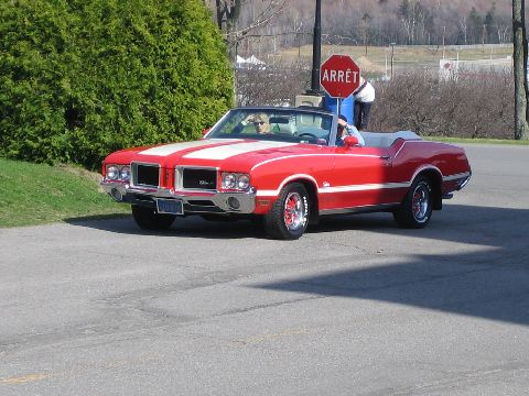 Oldsmobile Cutlass Supreme Convertible