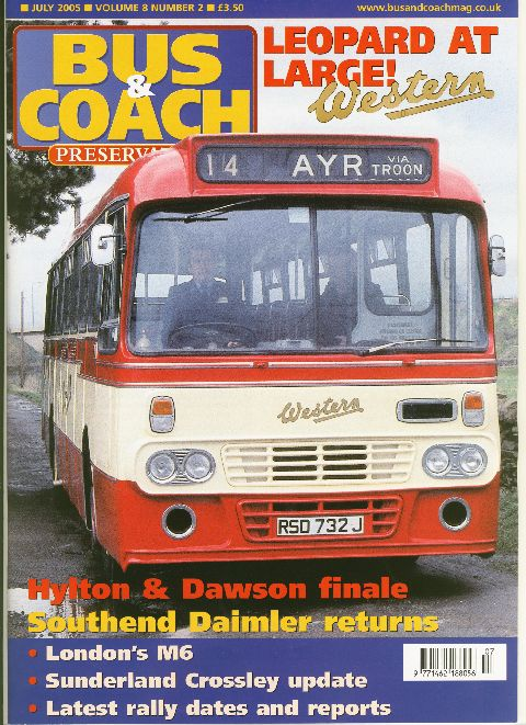 Bus & Coach Preservation July 2005