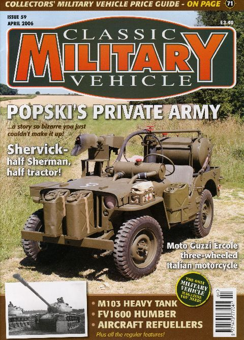 Classic Military Vehicle April 2006