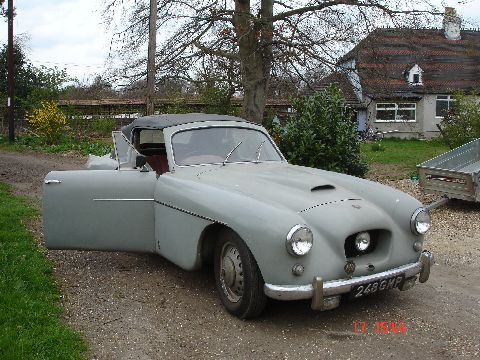 Bristol 405 Drophead Coupe