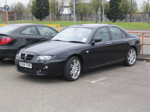 MG ZT 4 Dr Saloon