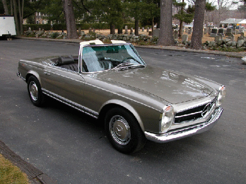 Mercedes benz 230 sl pagoda vehicle summary motorbase for Mercedes benz 280sl pagoda