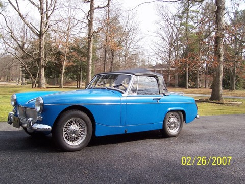 Mg midget model does not