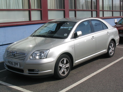 Toyota Avensis 5 Dr Htch