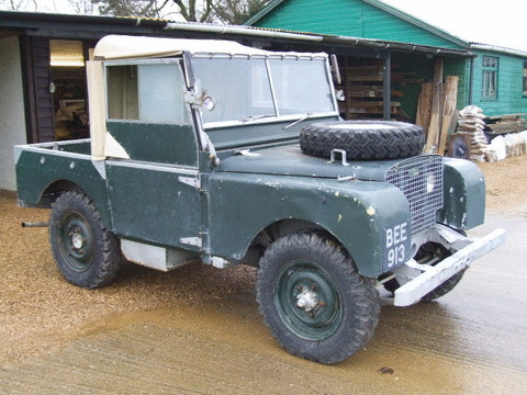 1949 Land Rover Series One 80""
