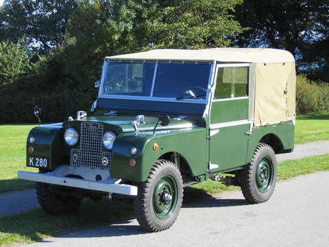 "Land Rover Series I 80"" 2.0 Petrol"