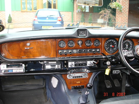 Jaguar Daimler 420 Dashboard