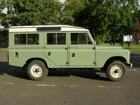 land rover series ii iia 109 2 6 petrol six cylinder vehicle summary motorbase. Black Bedroom Furniture Sets. Home Design Ideas