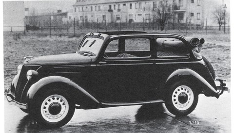 Later 34 PS 'Eifel' Cabrio-limousine (1937-39)