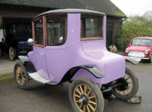 1915 Milburn Light Electric Coupe Rear Left View