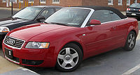 Audi A4 1.8T Cabriolet (US)