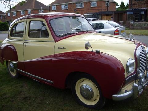 Austin A40 Somerset - Motorbas...