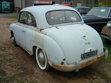 1952 Rosengart Ariette LR4S2 Rear Left View
