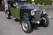 1934 British Salmson S4C Front Right View