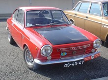Abarth Fiat OTS 1000 Coupe