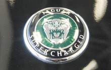 Jaguar XKR Black Knight Badge