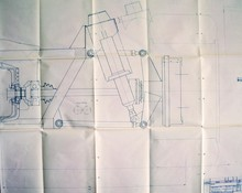 P2 Renault Rear Suspension Drawing