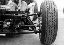 P1 Chassis Test Front Suspension May 74