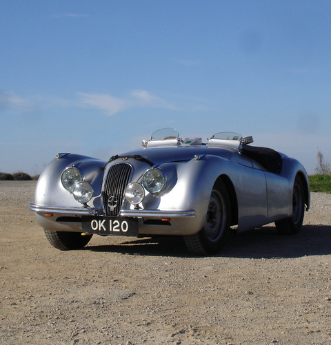 Jaguar XK120 2-Seater (steel)