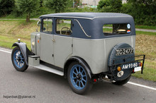 1930 Jowett 7hp 4 Door Fabric Saloon