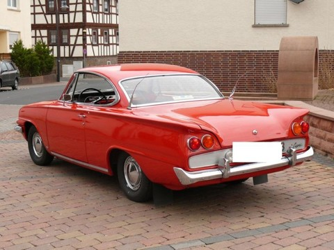 1962 Ford Consul Capri Coupe Rear Left View