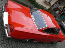 1962 Ford Consul Capri Coupe Top View