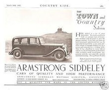 Armstrong Siddeley Town & Country