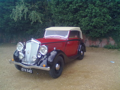 Wolseley 25 Drophead Coupe